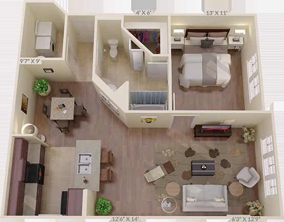 The Cloverleaf Floorplan