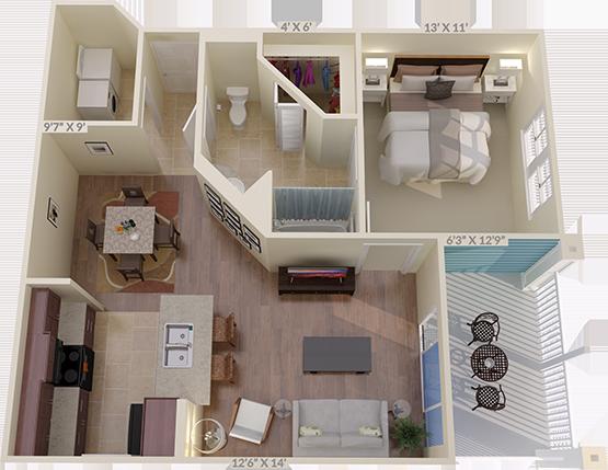 The Brooklands Floorplan