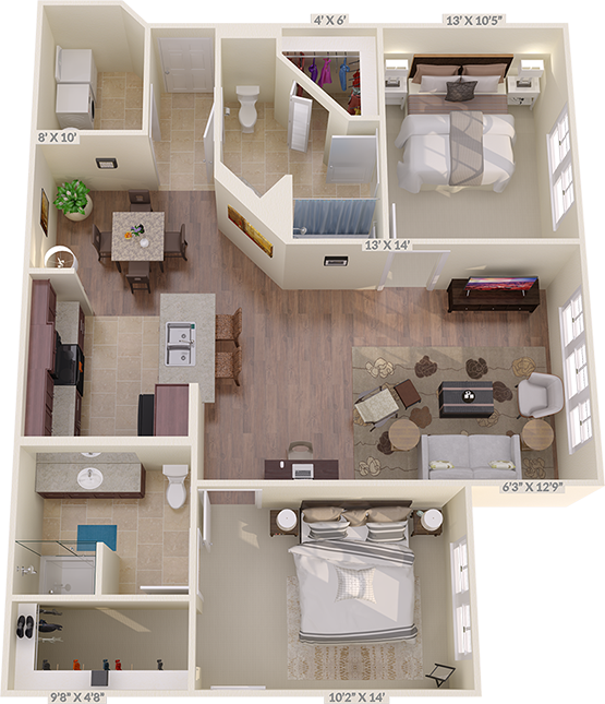 The Fairway Floorplan
