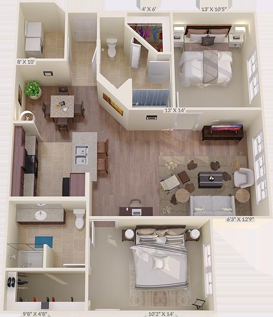 The Fairway Floorplan