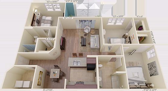 The Highfield Floorplan