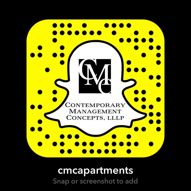 Contemporary Management Concepts Snapchat code - snap or screenshot to add